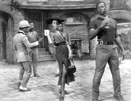 Porgy and Bess (1959) Directed by Otto Preminger Shown from left: Sammy Davis Jr., Dorothy Dandridge (as Bess), Brock Peters